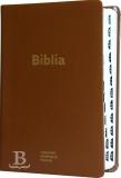 Biblia slovenská, ekumenický preklad, štandardný formát, koža, 2018