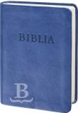 Biblia maďarská, revidovaný preklad, vreckový formát, modrá