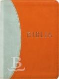 Biblia maďarská, revidovaný preklad, štandardný formát, prešívaná, oranžová