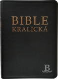 Biblia česká, kralická, štandardný formát, čierna