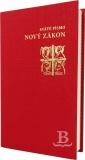 Nový zákon, Katolícky preklad, pevná väzba, červená