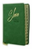 Biblia, ekumenický preklad, edícia SLOVO, 2020, zelená, s indexmi