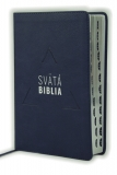 Biblia, Roháčkov preklad, 2020, tmavomodrá, s indexmi