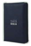 Biblia, Roháčkov preklad, 2020, tmavomodrá, so zipsom, s indexmi