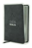 Biblia, Roháčkov preklad, 2020, vreckový formát, tmavosivá